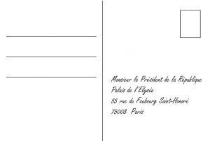 Carte Postal - Loi travail